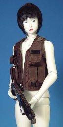 『イノセンス インターナショナルバージョン・タイプ モトコ』付属の人形。コワイ・・・