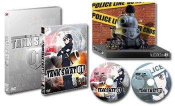 警察戦車隊TANK SWAT 01 パッケージ・特典オリジナルペーパーフィギュア